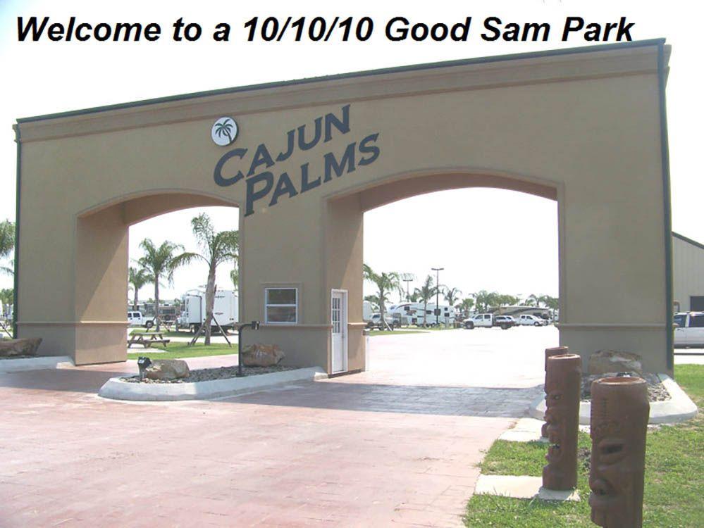 Cajun Palms Rv Resort At Henderson La Resort Rv Campsite