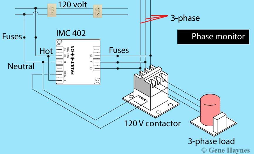 How To Wire Phase Monitor Http Waterheatertimer Org How To Wire Phase Monitor Html Monitor Diy Water Wire