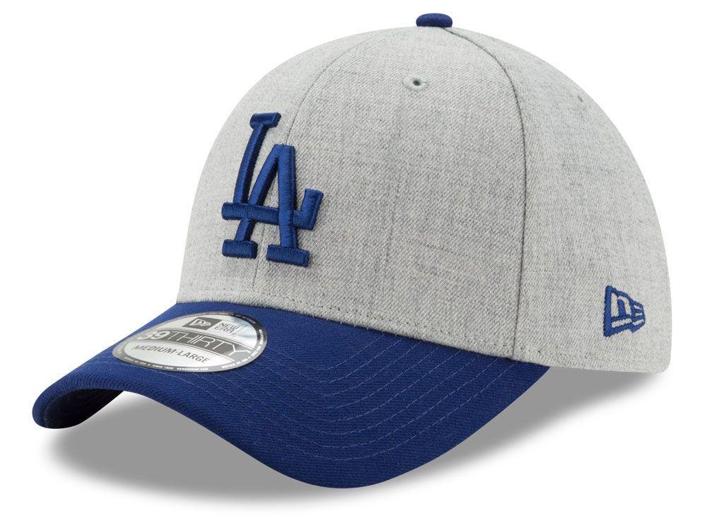 Los Angeles Dodgers New Era MLB Heather Classic 39THIRTY Cap  9111436ec349