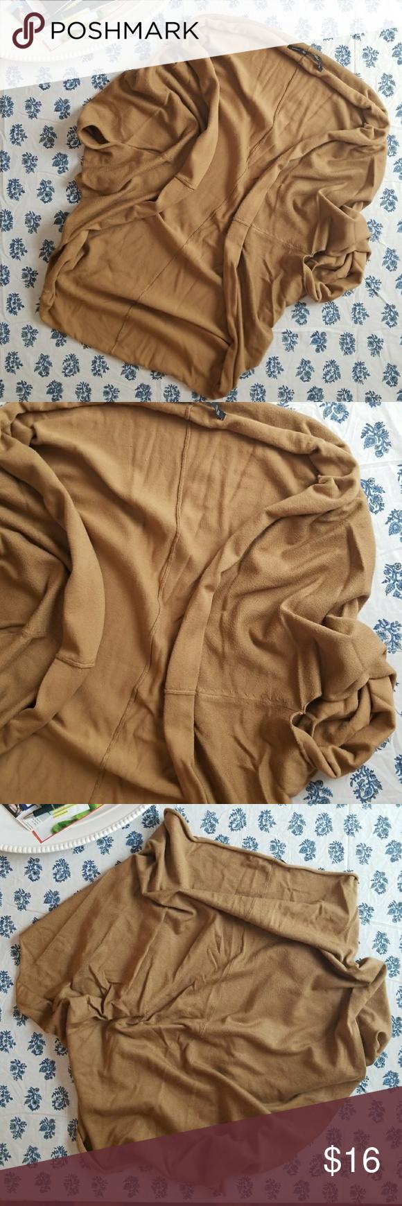 Zara Knit Shrug Sweater M Soft tan knit shrug. Some pilling ...