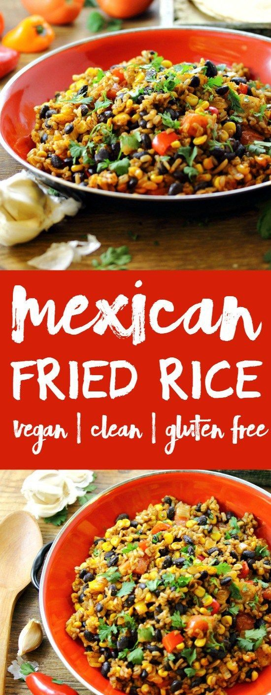 Mexican Fried Brown Rice is one of my favorite meals. Cheap, healthy and delicious!