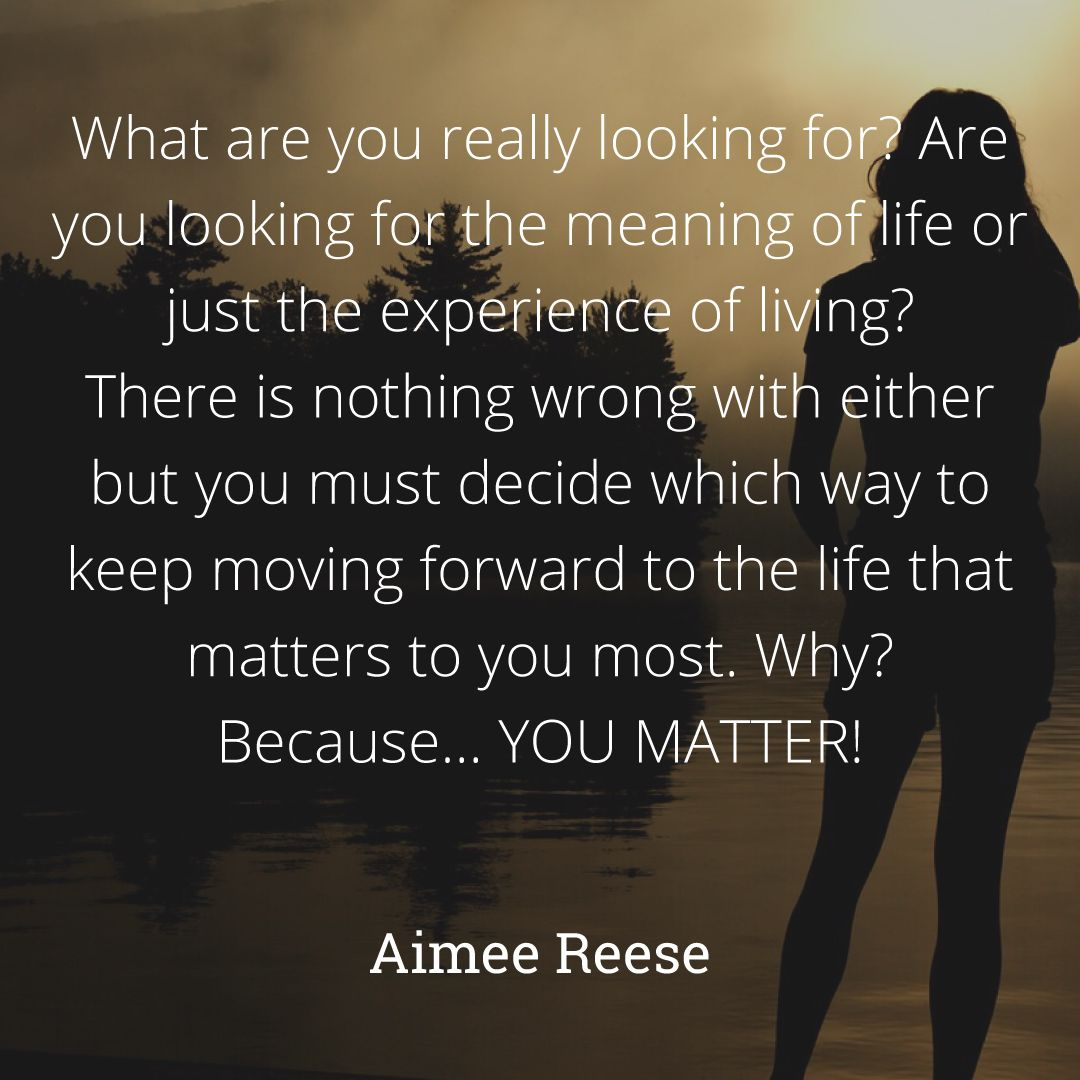What are you really looking for? #aimeereese #lifecoach # ...