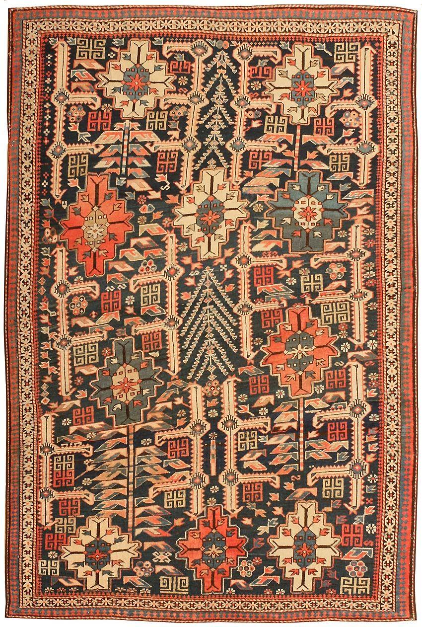 Antique shirvan nazmiyal alfombras pisos muros - Ikea textiles y alfombras ...
