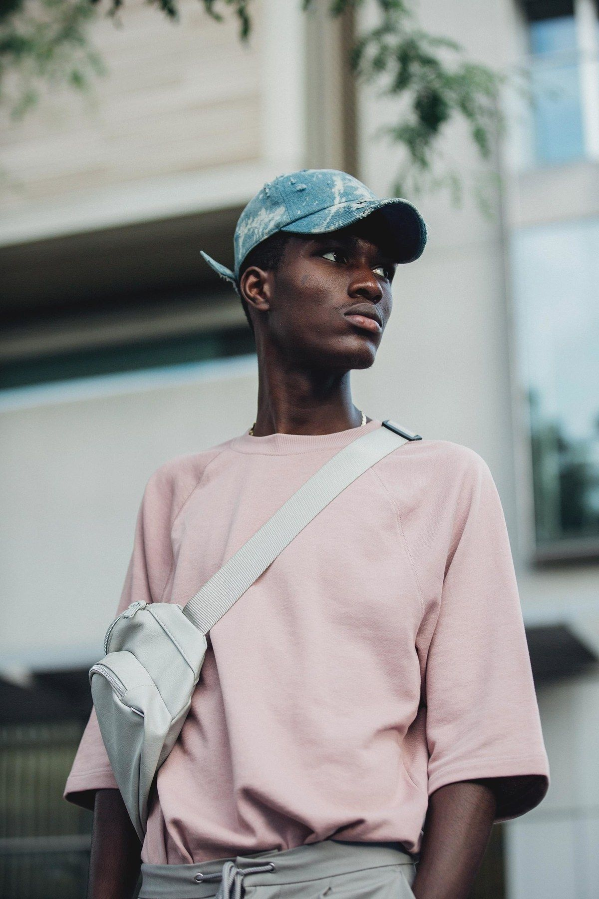 The best street style from the Spring/Summer 2019 Men's Fashion Week in London #mensfashion