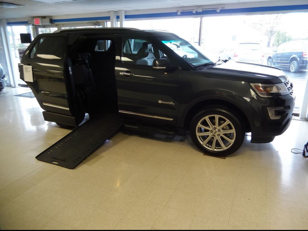 Wheelchair Accessible 2016 Ford Explorer For Sale Ford