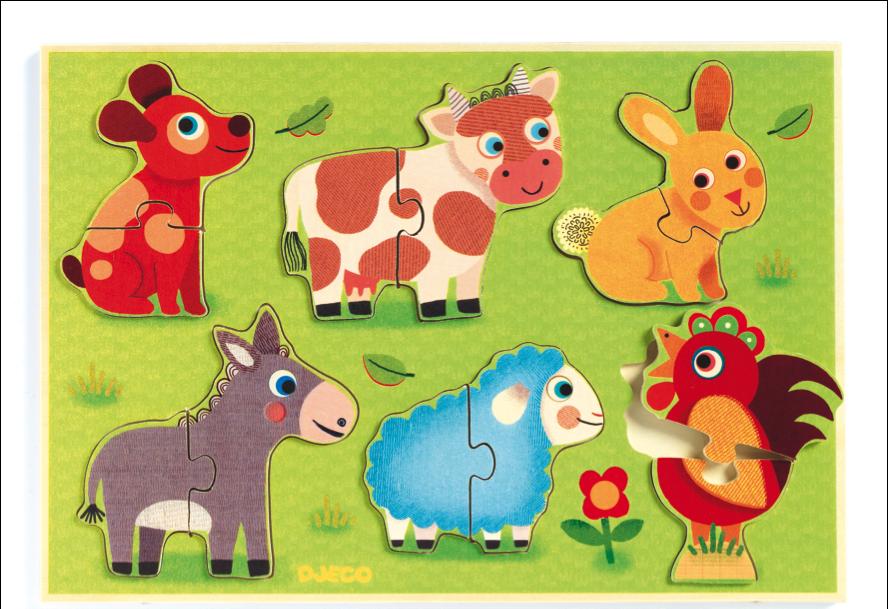 Hello meadow #puzzle by Djeco from www.kidsdinge.com https://www.facebook.com/pages/kidsdingecom-Origineel-speelgoed-hebbedingen-voor-hippe-kids/160122710686387?sk=wall