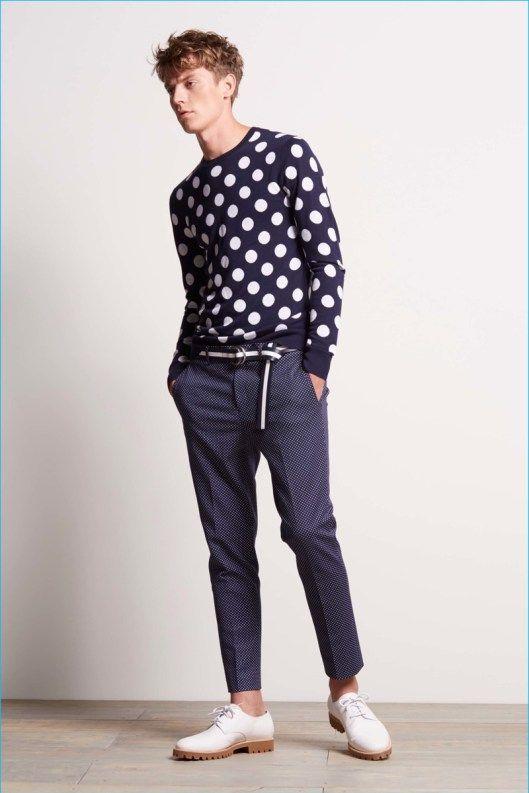 Michael-Kors-2017 Calça bem moderno com blusa poa