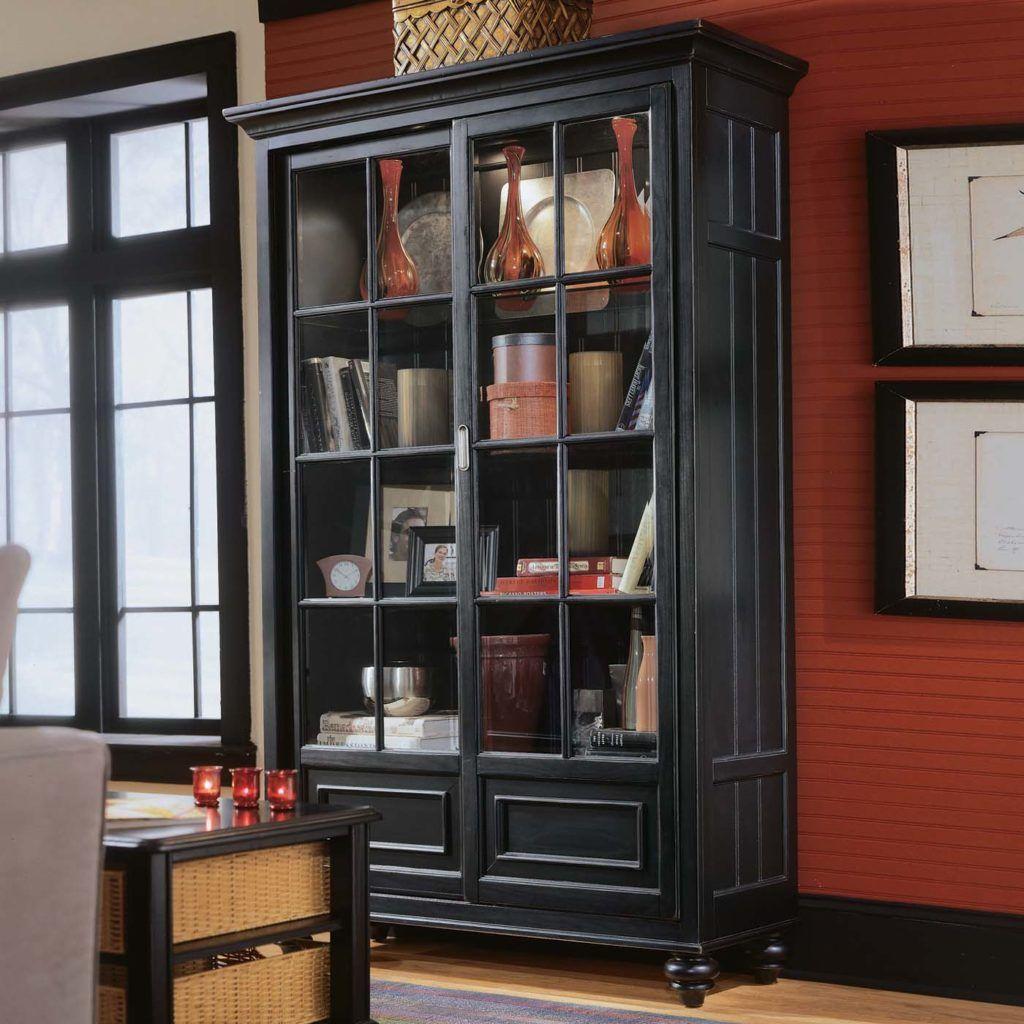 Design Ideas Alluring Glass Door Bookshelves Design Ideas
