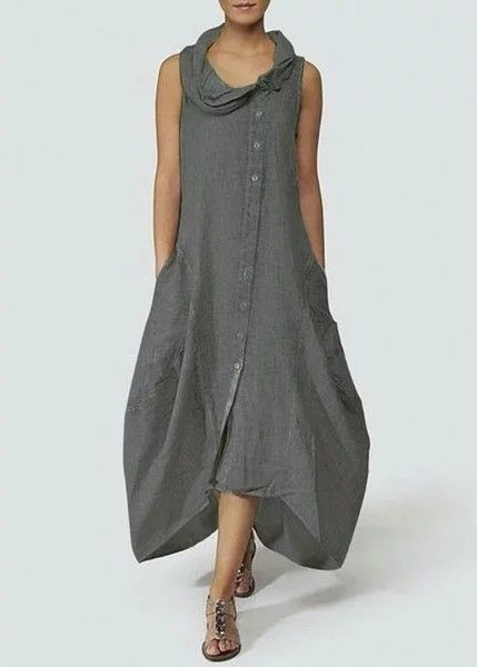 7d90571d758 Fashionable Solid Basic Cocoon Casual Women Dress in 2018