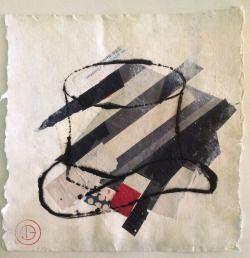 Hat by Helena de la Guardia.