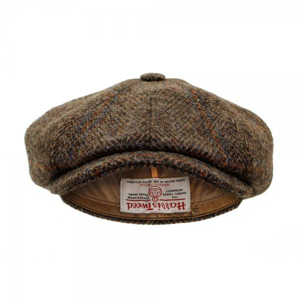 66d826be454fe Stetson Hats Stetson Hatteras Harris Tweed Herringbone Wool Flat Cap ...