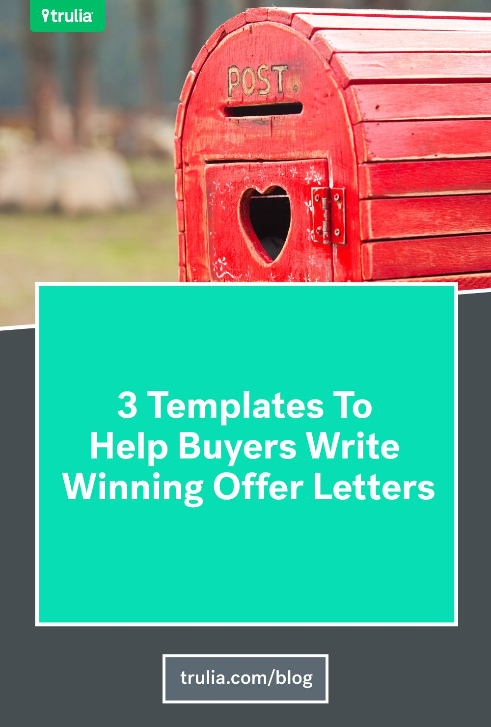 How To Write An Offer Letter House Hunting Tps Pinterest Real
