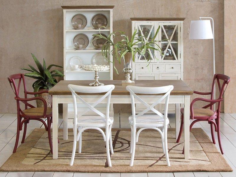 Silla cruceta cl sica con brazos sillas cruceta sillas for Sillas de madera para comedor clasicas