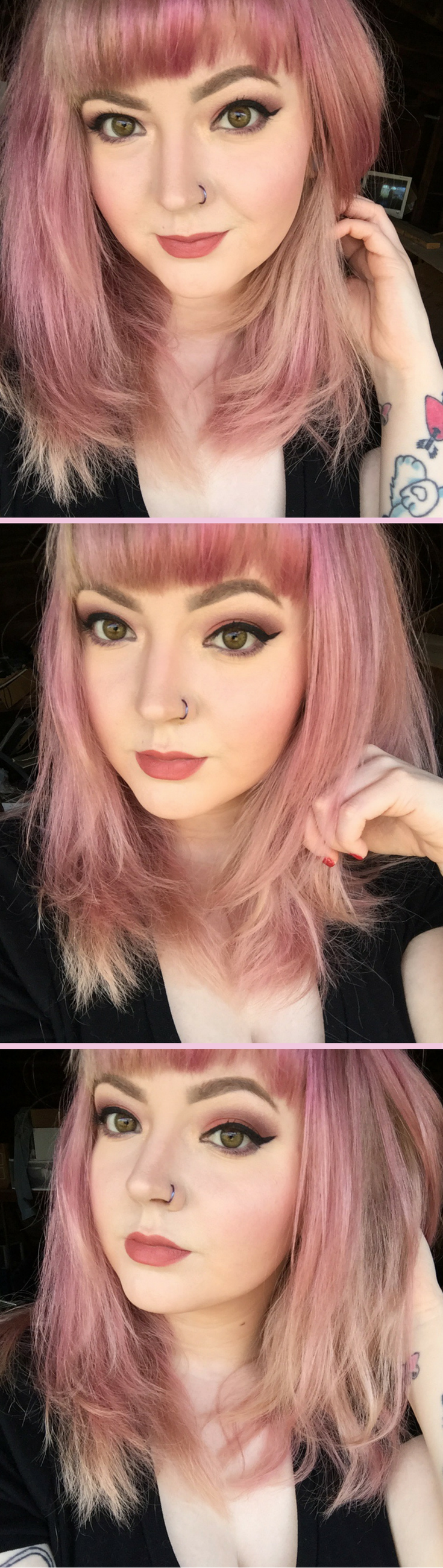 how to get pink hair dye to dye evenly
