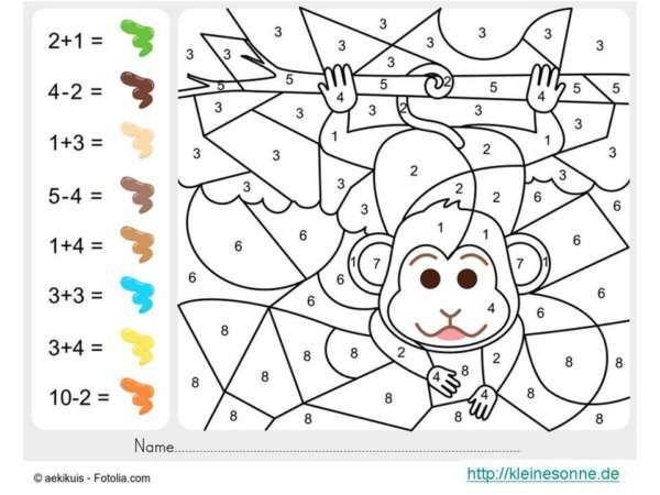 Malen Nach Zahlen Fur Kinder Mit Bildern Malen Nach Zahlen