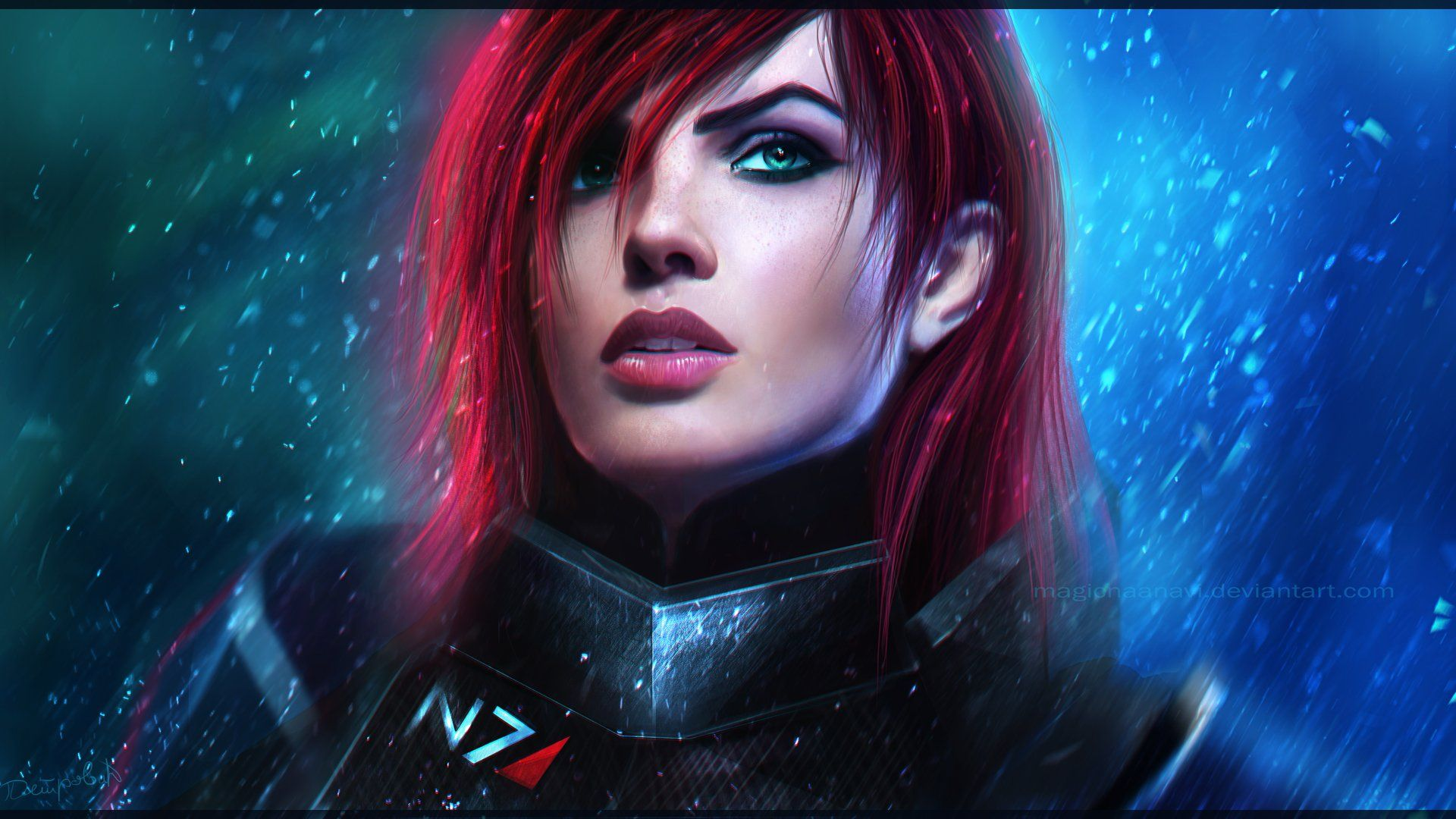 1920x1080 Female Shepard Wallpaper Background Image View