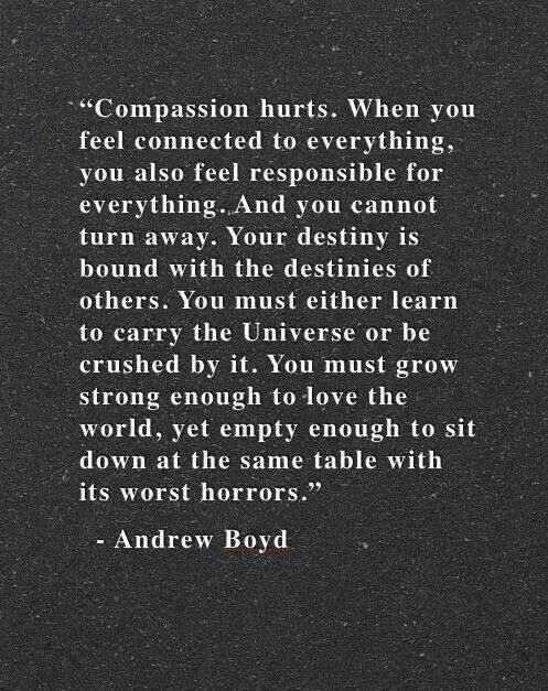 For Those Who Care Too Much Quotespoems Quotes Compassion Words