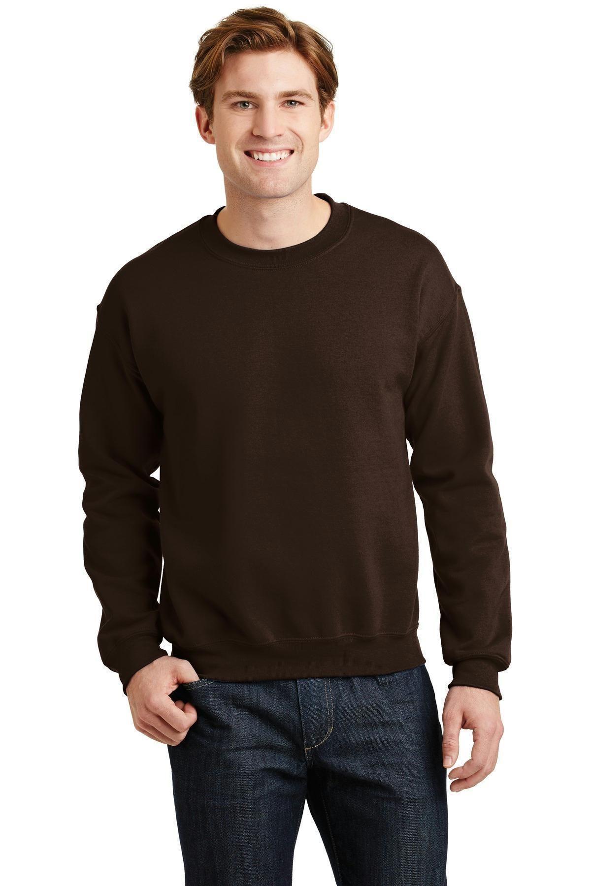 Gildan Heavy Blend Crewneck Sweatshirt 18000 Crew Neck Sweatshirt Sweatshirts Long Sleeve Tshirt Men [ 1800 x 1200 Pixel ]