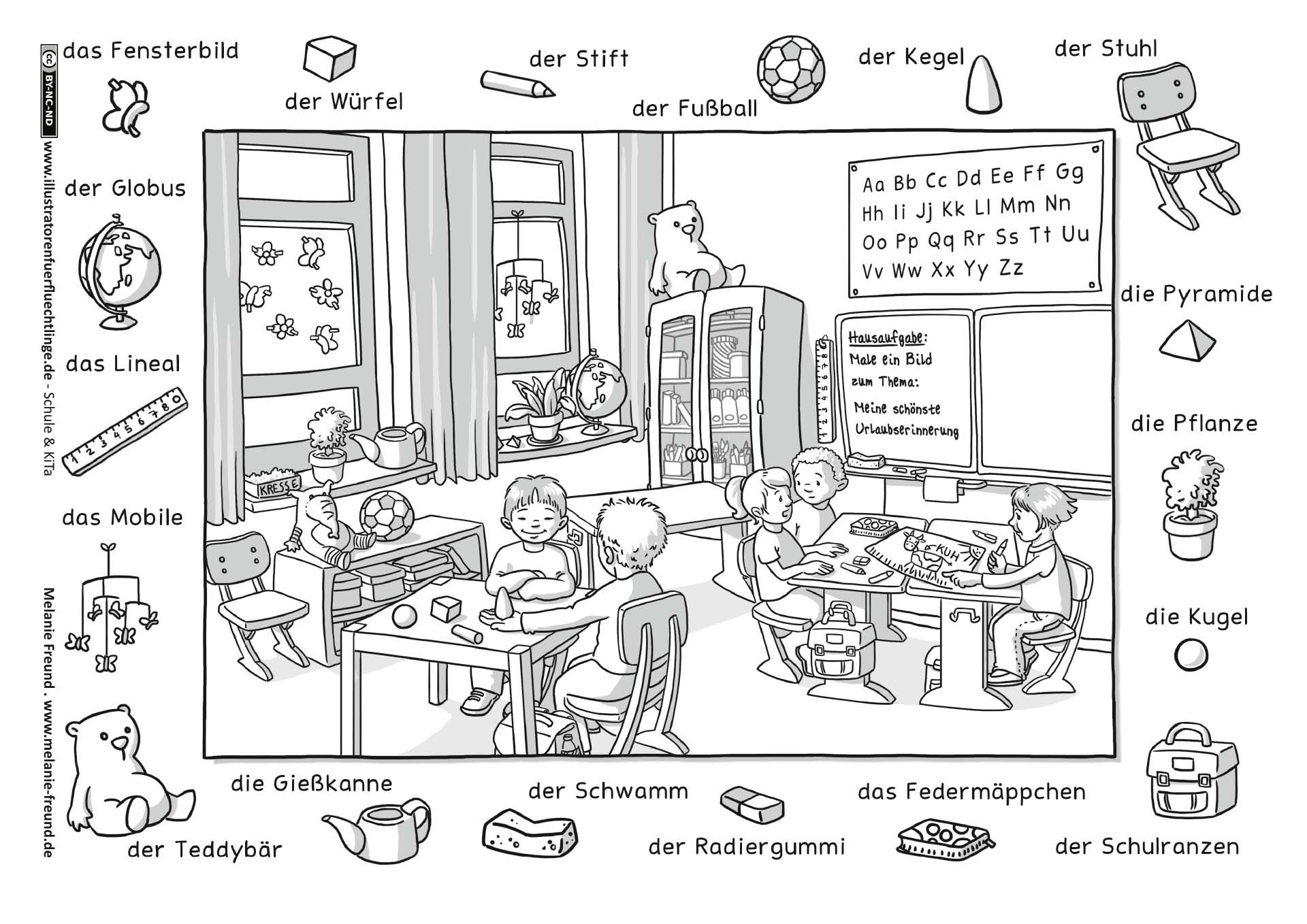 Download Als In Der Stadt Stadt Wimmelbild Mini Dibujos