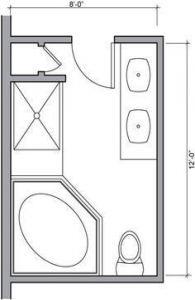 6x6 bathroom layout floor plans 20+ ideas for 2019   small