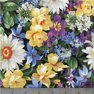 Hobby Lobby Packed Floral Fabric Is 44 Quot Wide And 100
