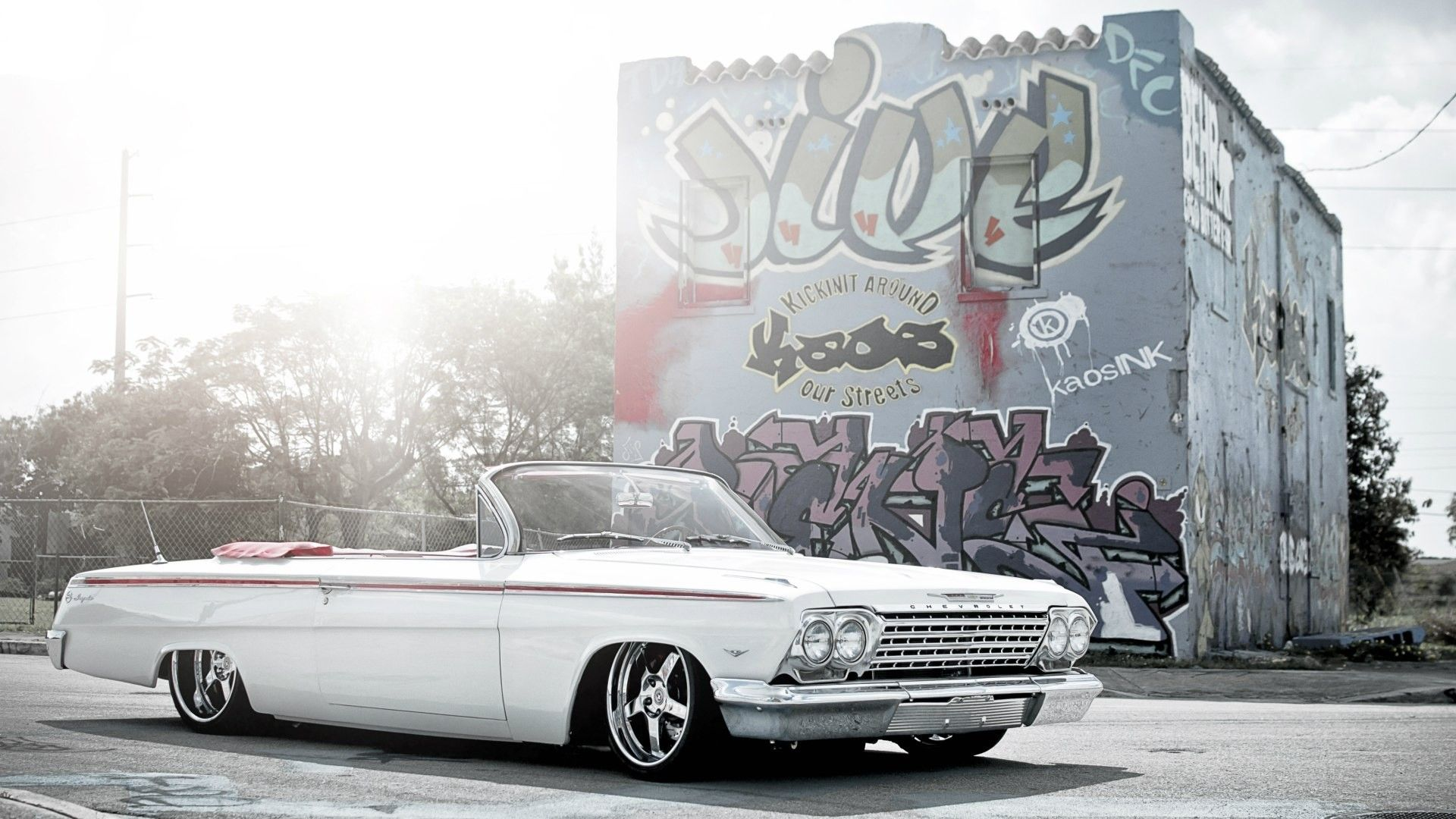 Lowrider Impala Hd Wallpaper Classic Car Cars Pinterest