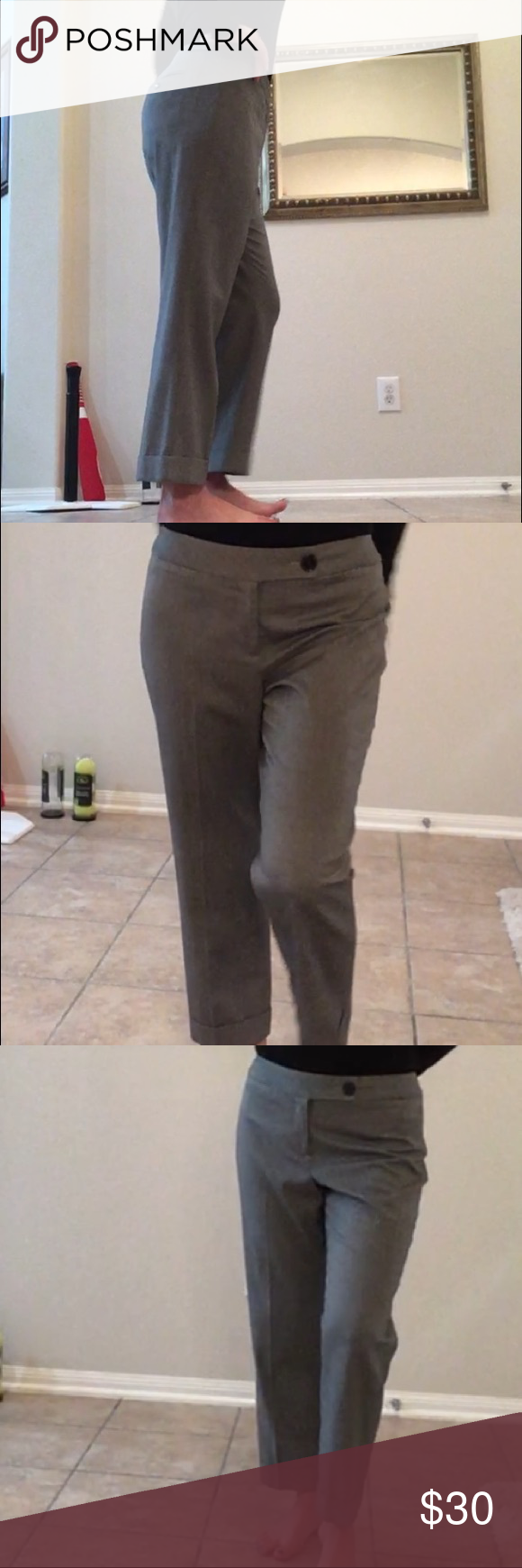 Loft Julie cuffed cropped gray and white slacks Loft Julie cuffed cropped gray and white slacks LOFT Pants Ankle & Cropped #whiteslacks Loft Julie cuffed cropped gray and white slacks Loft Julie cuffed cropped gray and white slacks LOFT Pants Ankle & Cropped #whiteslacks