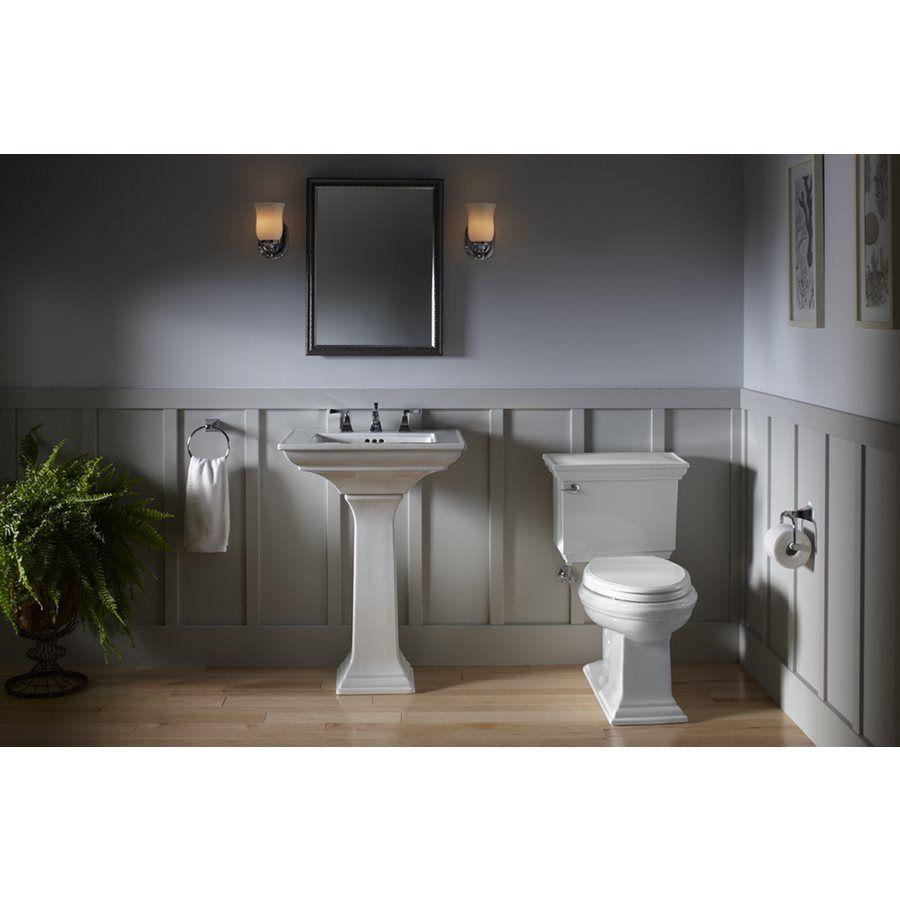 Kohler Memoirs Lavatory Pedestal Pedestal Sink Bathroom Mirror