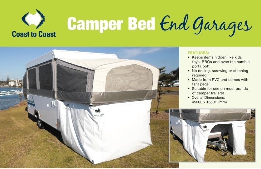 Jayco  Outback  C&er Trailer Bed End Storage Room Annexe / Kids Cubby / Garage & Jayco