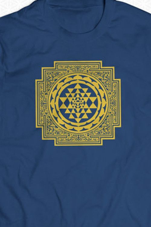 Sri Yantra Mandala Tee by Sacred G