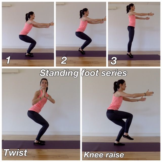 Pilates Shoes Heel Raise