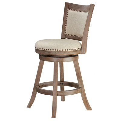 Dorrell Swivel Bar Stool Seat Height Counter Stool 25 Seat Height In 2020 Swivel Bar Stools Bar Stools