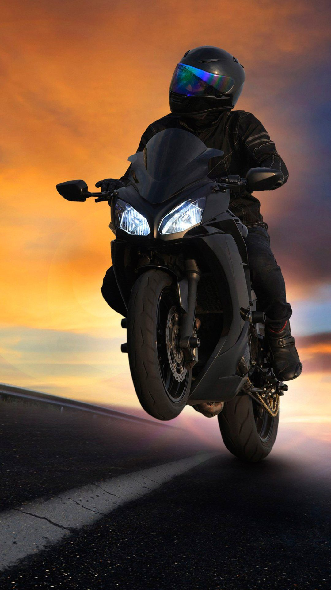 Empirewalls On With Images Motorcycle Wallpaper Black