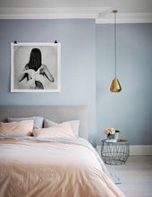 Gorgeous grey bedroom ideas #graybedroomwithpopofcolor