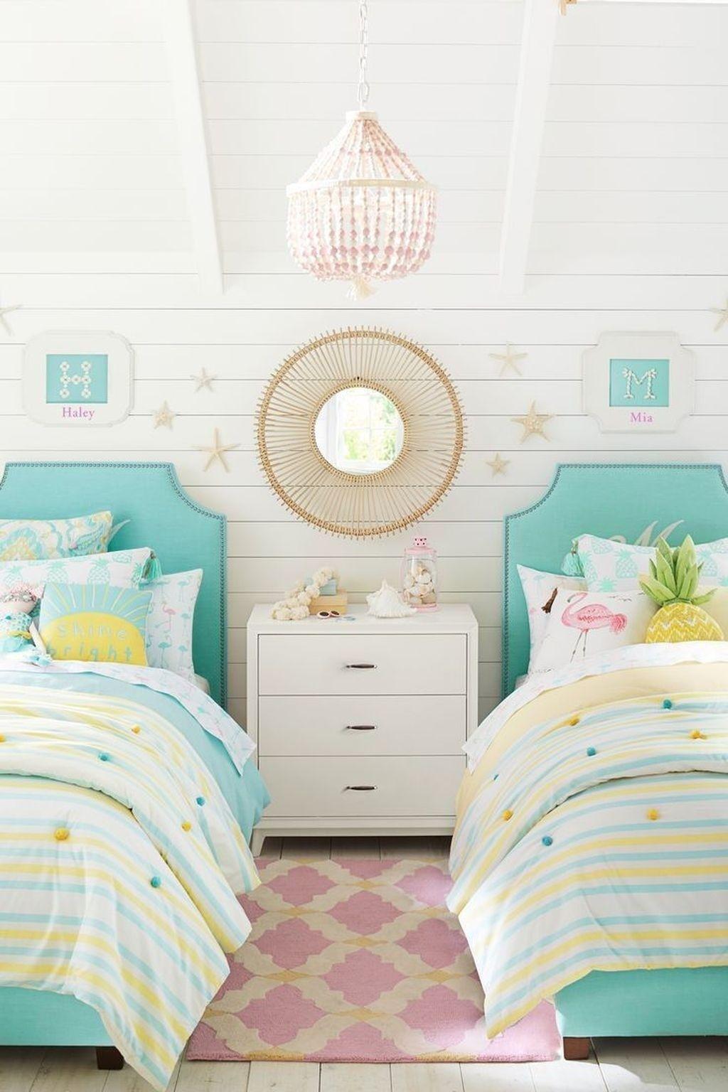 30 Nice Pink Tropical Bedroom Ideas Fresh For Summer Bedroom