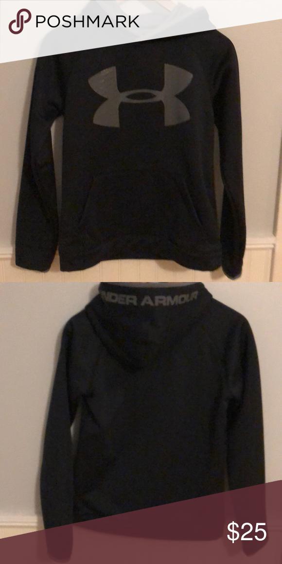 bbef5a5c568d UA Sweatshirt Under Armour sweatshirt. Like new condition. Size boys large. Under  Armour Shirts   Tops Sweatshirts   Hoodies