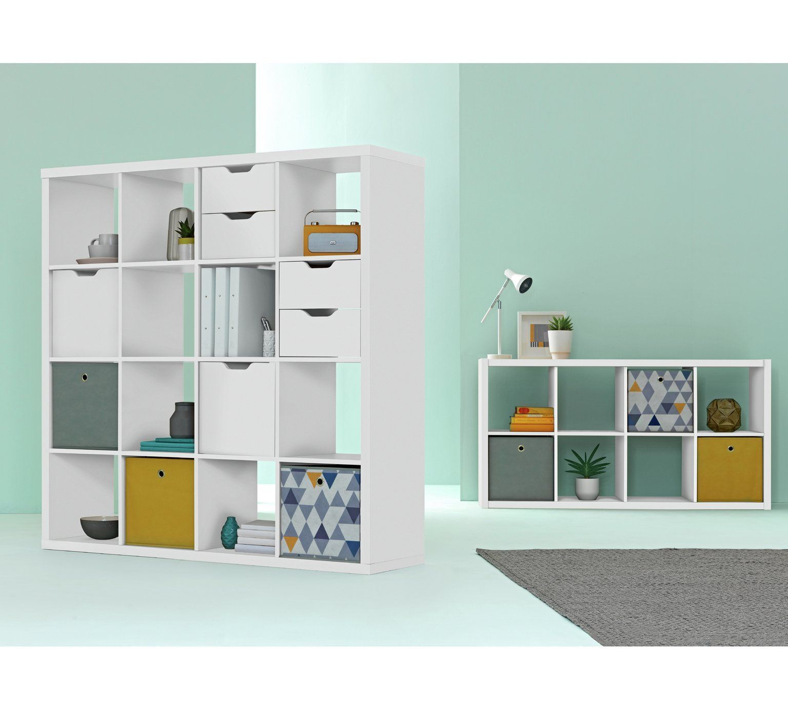 Living Room Storage Units Argos In Grey Buy Hygena Squares Plus 16 Cube Unit White At Co Uk Your Online Shop For Bookcases And Shelving Furniture