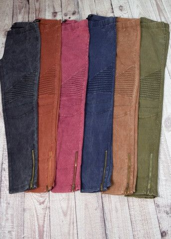 0d1e65497bd6 Axel Moto Jeggings. Luxe New Fall Colors - Now In Stock ! These will go  fast