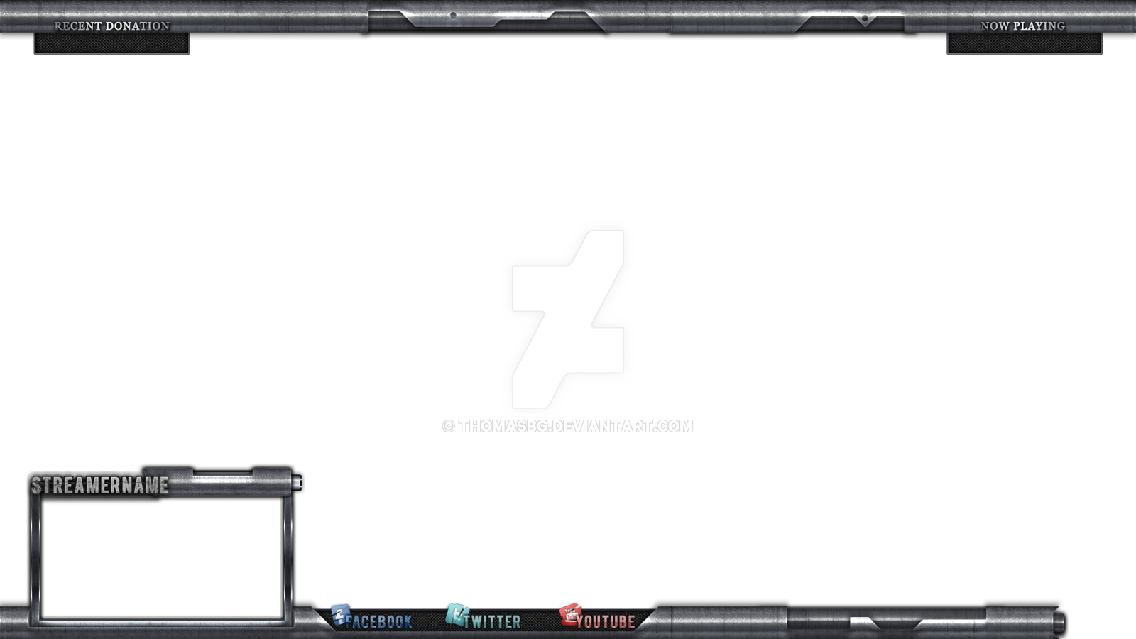 Stream Overlay For Twitch Tv Hitbox By Thomasbg Minecraft