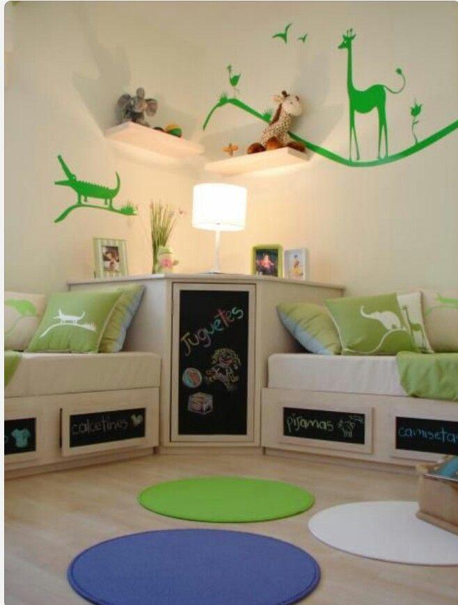 Small Kids Room Space Saving