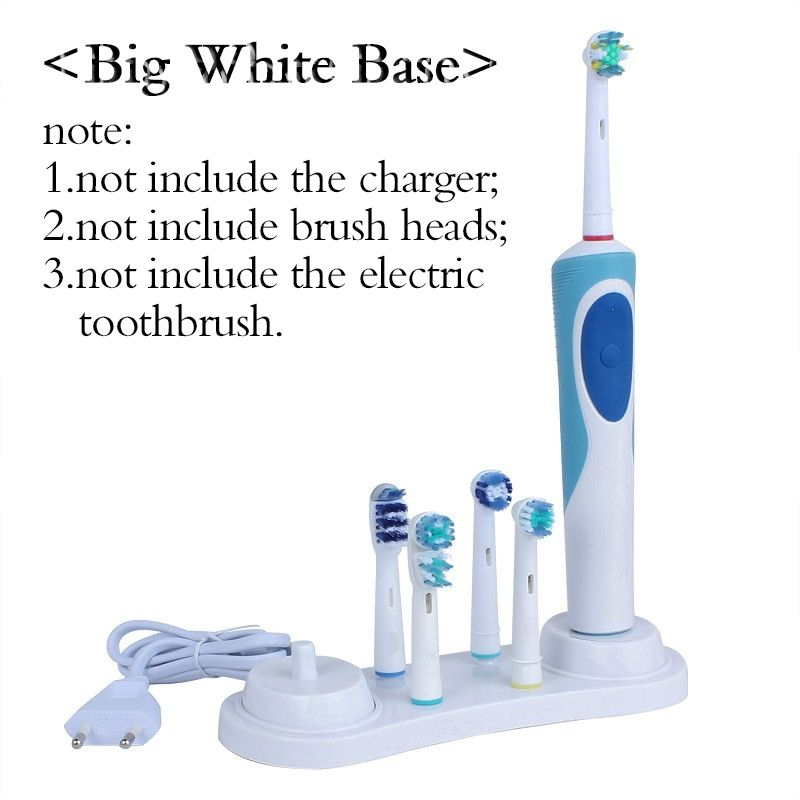 OralB White Electric Toothbrush Stander Support