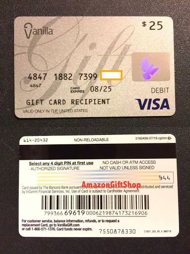 My Vanilla Debit Card Activation. There is no purchase fee for a