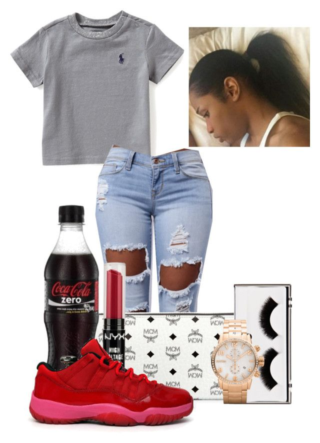 """""""✨To Bri's house✨"""" by therealslimm ❤ liked on Polyvore featuring Ralph Lauren, MCM, NYX, Pop Beauty and Brera Orologi"""