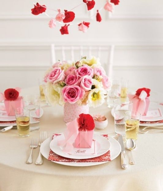 pink perfection for spring | Martha stewart, Tablescapes and Holidays