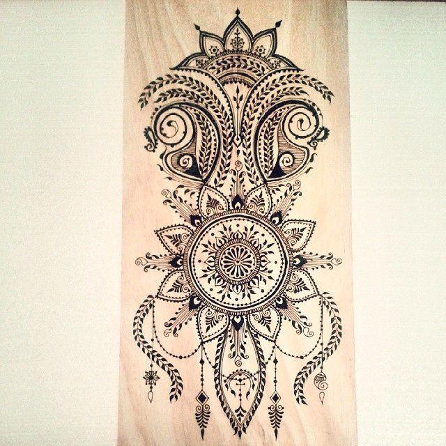 Mehndi Art Piece  Mehndi by Nindya