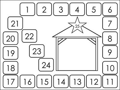 advent worksheet for kids - Google Search | Christmas Crafts and ...
