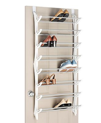Whitmor Over The Door Shoe Rack, 24 Pair   Home Organization   For The Home