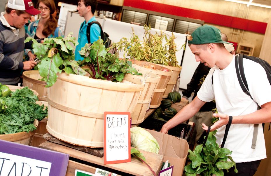 Fall 2012 Student Farmers Market