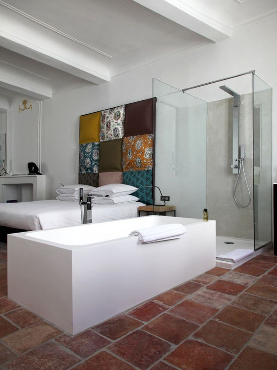 Salle De Bain Ouverte Sur Chambre Design ~ design moderne salle de bain pinterest salle de bains ouverte