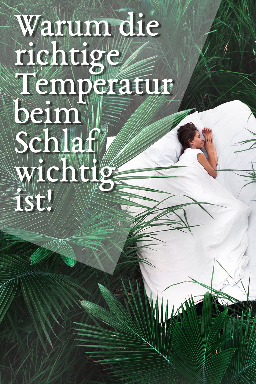 Die Temperatur im Schlafzimmer und ihre Auswirkung auf gesunden